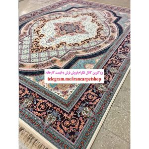 فرش 1200 شانه طرح زرنگار