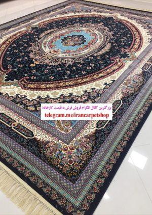خرید فرش ۱۲۰۰ شانه طرح ونوس - فرش کاشان