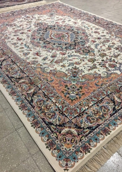 خرید فرش ۱۲۰۰ شانه طرح پرند - فرش ارزان قیمت