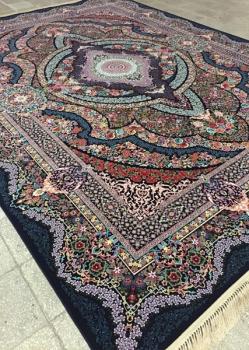 فرش ۱۲۰۰ شانه طرح کشمیر - فرش ماشینی کاشان
