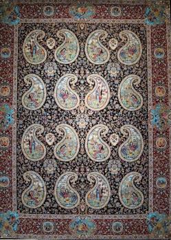 فرش ۱۲۰۰ شانه طرح مشاهیر
