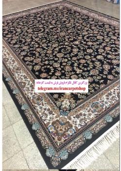 فرش ماشینی ۷۰۰ شانه طرح گل افشان - خرید فرش ماشینی کاشان