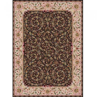 فرش ۱۲۰۰ شانه طرح گل فرنگ