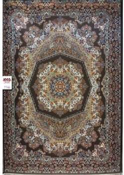 فرش 700 شانه ماشینی کاشان - کارخانه قالی کاشان