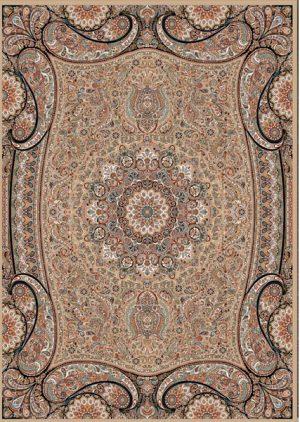 فرش زمینه گردویی 1000 شانه 6030