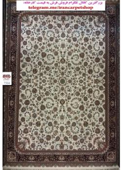 فرش ۷۰۰ شانه زمینه کرم 7504