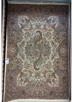 فرش ۷۰۰ شانه زمینه کرم رنگ 7738