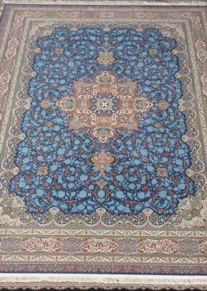 فرش 1200 شانه طرح فلورا گل برجسته