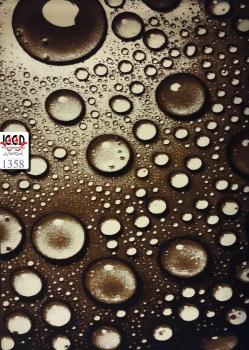 فرش فریز سه بعدی کرم قهوه ای کد1358