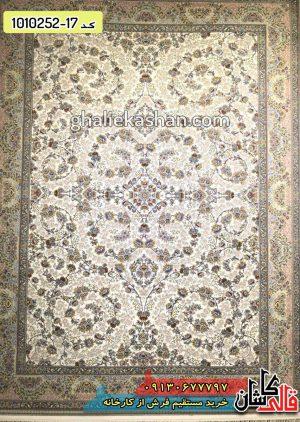 فرش طرح شقایق 700 شانه برجسته - خرید فرش کاشان