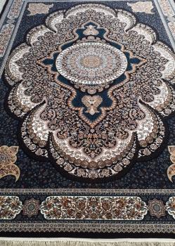 فرش طرح آرشیدا زمینه سرمه ای