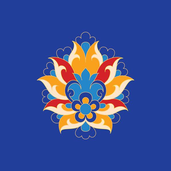 نقش گل شاه عباسی
